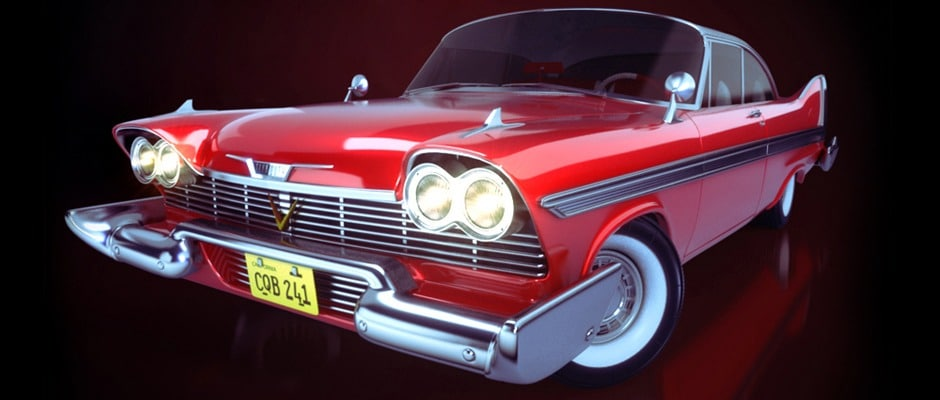 Christine | Plymouth Fury 1957. Animated Short. 3D Modelling, Shading, Texturing, Lighting, Animation, Rendering, Post. Stas3DArt. London.