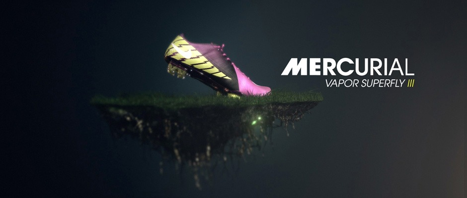 Nike | Mercurial Superfly III. Director: Jean-Paul Frenay. Animated short in collaboration with Condor Digital. 3D Modelling, Texturing, Shading, Lighting, Animation. Stas3DArt. London.