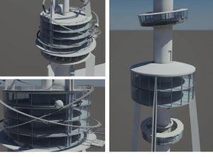 Chengdu Concept Tower   Architecture   Stas3dArt   London